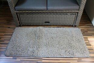Paklājs Shaggy pelēks, 60x120 cm