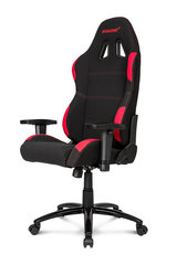 AKRACING Gaming Chair, Melns/Sarkans