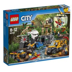 60161 LEGO® City Jungle Exploration Site Džungļu izpētes vieta