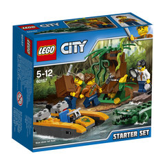 60157 LEGO® City Jungle Mobile Lab Iesācēja komplekts