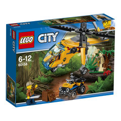 16058 LEGO® City Jungle Cargo Helicopter Džungļu helikopteris
