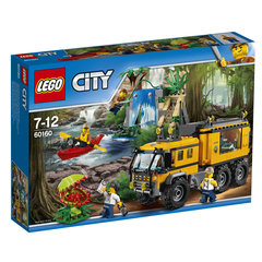 60160 LEGO® City Jungle Mobile Lab Pārvietojamā laboratorija