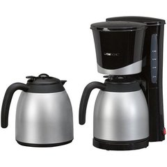 Clatronic KA 3328 Thermo coffee maker, Black Clatronic 263126 Black, Stainless steel