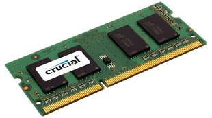 Crucial 2GB DDR3 PC3-12800 CL11 SO-DIMM CT25664BF160B