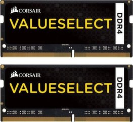 Corsair Vengeance 16GB 2133MHz DDR4 CL15 SODIMM KIT OF 2 CMSO16GX4M2A2133C15 cena un informācija | Corsair Vengeance 16GB 2133MHz DDR4 CL15 SODIMM KIT OF 2 CMSO16GX4M2A2133C15 | 220.lv