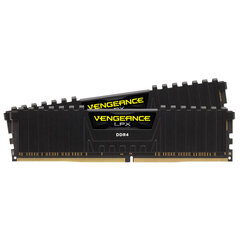 Corsair Vengeance LPX 16GB 2666MHz DDR4 CL16 KIT OF 2 CMK16GX4M2A2666C16 cena un informācija | Corsair Vengeance LPX 16GB 2666MHz DDR4 CL16 KIT OF 2 CMK16GX4M2A2666C16 | 220.lv