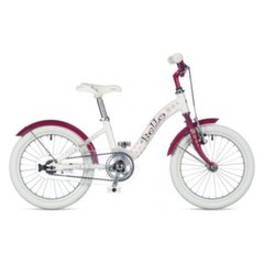 Velosipēds Author Bello Jeweled White // Raspberry Red 16""