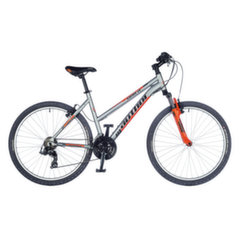Velosipēds Author Unica Treasure silver matte//california orange 16''