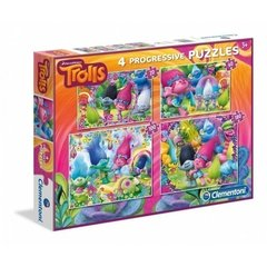 4 puzle CLEMENTONI Trollis