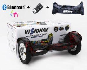 "Giroskūteris Visional 10"" ar Bluetooth cena un informācija | Giroskūteri | 220.lv"