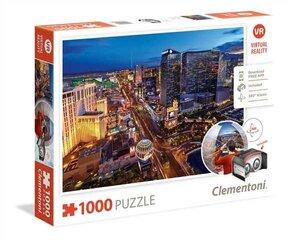 Puzle Clementoni LAS VEGAS un virtuālās realitātes brilles
