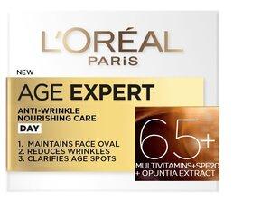 Омолаживающий крем для лица Age Specialist 65+ L'Oreal paris 50 ml