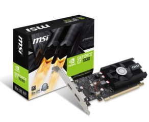 MSI GeForce GT 1030 2GH LP OC, 2GB, DP/HDMI/LP/HSK/