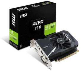 MSI GeForce GT 1030 AERO ITX 2G OC, 2GB, OC/SL-DVI-D/HDMI/ATX/FAN