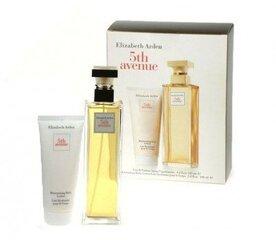 Komplekts Elizabeth Arden 5th Avenue edp 125 ml + 100 ml ķermeņa losjons cena un informācija | Sieviešu smaržas | 220.lv