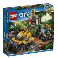 60159 LEGO® City Jungle Halftrack Mission Džungļu Halftraka misija