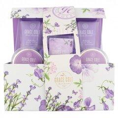 Komplekts Grace Cole Fresh Lavender Luxury cena un informācija | Kosmētikas komplekti | 220.lv