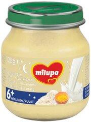 Рисовый крем с обезжиренным молоком Milupa, 6 мес+, 125 г
