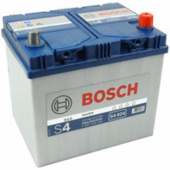 Bosch S4 024 AsiaSilver (60A/h)