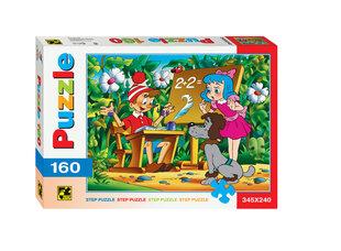 """Puzle Step Puzzle 160 """"Buratino piedzīvojumi"""""""