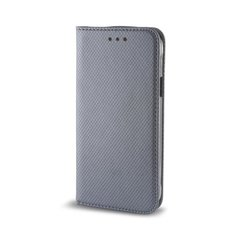 Sāniski atverams maciņš Mocco Smart Magnet Book priekš Huawei P9 Lite, pelēka