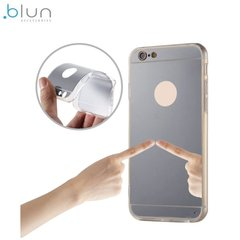 Чехол - крышка Blun Mirror для Huawei Honor 5X / X5 / GR5, Серебристый