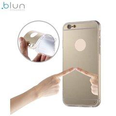 Aizmugures aizsargapvalks Blun Mirror priekš Huawei P9 Lite, Zeltains