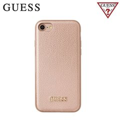 "GUESS GUHCP7IGLRG IriDescent silikona apvalks priekš Apple iPhone 7 4.7"", Zeltrozā"