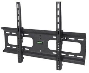 Manhattan sienas stiprinājums TV LED/LCD/PLASMA, 37-70'', 75kg, noliecams, VESA cena un informācija | Televizoru stiprinājumi (kronšteini) | 220.lv