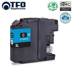 TFO Brother LC125XL (LC-125XLC) Cyan INK Cartridge 15ml for DCP-J4110DW и др. HQ Премиум Аналог