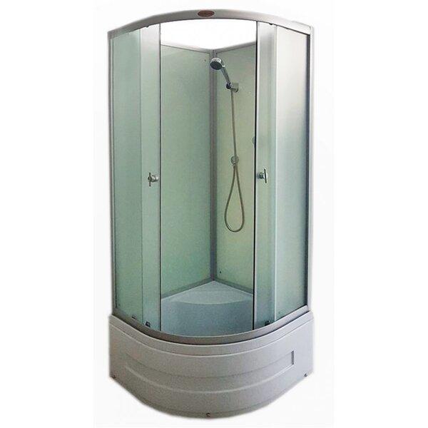 Dušas kabīne R8503 White, 80x80 cm