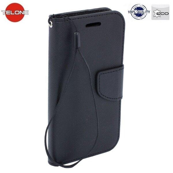 Telone Fancy Diary Bookstand Case Чехол-книжка со стендом для Huawei Honor 8, чёрный