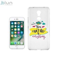 Aizmugurējais apvalks Blun ART priekš Apple iPhone 6 6S (4.7inch), You can do everything cena un informācija | Maciņi, somiņas | 220.lv