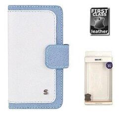 Samsung Galaxy S4 maciņš BLAZE Sox zils/balts