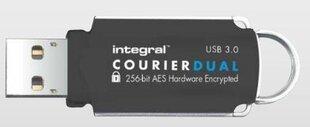 Integral Courier 64GB USB 3.0 + FIPS 197 šifrēšana