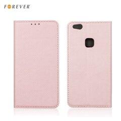 Sāniski atverams maciņš Forever priekš Samsung J510 Galaxy J5, rozā cena un informācija | Maciņi, somiņas | 220.lv