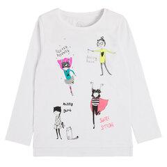 Cool Club T-krekls meitenēm, ar garām piedurknēm CCG1510548