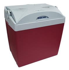 Mobicool V26 12V tumši sarkans cena un informācija | Auto ledusskapji | 220.lv