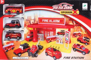 Rotaļu komplekts Fire station, 19 daļas