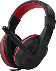Rebeltec Zeno Gaming Headphones With Microphone Black - Red
