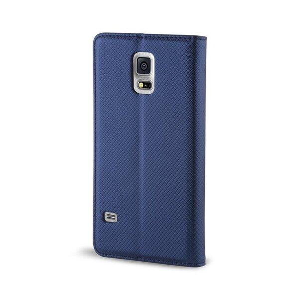 Sāniski atverams maciņš Mocco Smart Magnet Book Case priekš Samsung J120 Galaxy J1 (2016), Zils cena