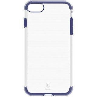 Baseus Guards Case Impact silikona apvalks priekš Apple iPhone 7 Plus Caurspīdīgs - Zils internetā