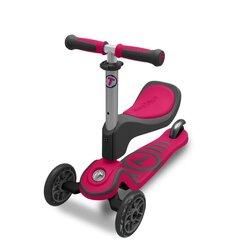 Trīsriteņu skrejritenis SMART TRIKE T-Scooter T1 ar sēdekli, rozā