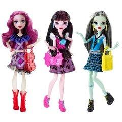 """Lelle Monster High """"Pirmā diena skolā"""" DNW97, 1 gab."""