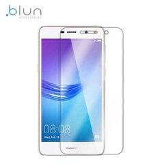 Blun Extreeme Shock 0.33mm / 2.5D Aizsargplēve-stiklss Huawei Y6 (2017) cena un informācija | Ekrāna aizsargplēves | 220.lv
