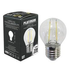 LED spuldze Filament Polux E27 2W 230lm cena un informācija | Spuldzes | 220.lv