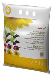 Baltic Agro superfosfāta granulas, 7,5 kg