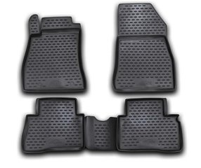 3D NISSAN Juke 2010-2014, 2014->, 4 pcs. /L50016 цена и информация | Модельные резиновые коврики | 220.lv