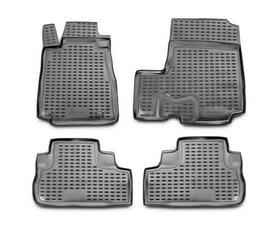 Guminiai kilimėliai 3D HONDA CR-V 2007-2012, 4 pcs. /L28019G /gray