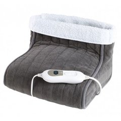 DomoClip Foot warmer DOW101 Number of heating levels 3, Number of persons 1, Washable, Remote control, 100% polyester, 100 W, Grey   цена и информация | Массажeры | 220.lv